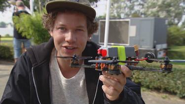 Het Klokhuis: Droneracen