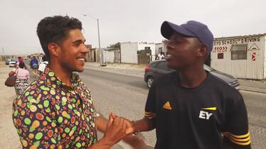 Het Klokhuis: Zuid-Afrika: Taal