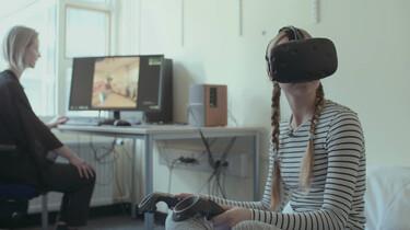 Met een VR-bril in het ziekenhuis