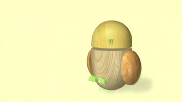 Een hoofd met 2 grote ogen!: Een uil van blokken