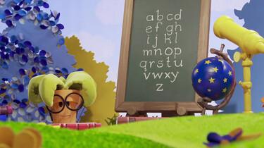 Een les over het alfabet