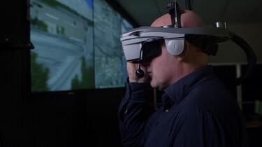 Een oorlog in Virtual Reality: Militairen trainen voor moeilijke beslissingen
