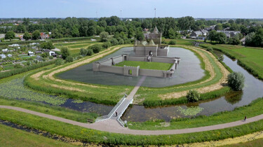 De slag bij Vronen: Een veldslag tussen Hollandse en West-Friese legers