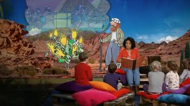 Verhalen uit de Schatkist: Mozes en de brandende struik