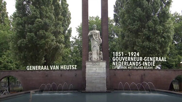 Omstreden standbeelden in Nederland