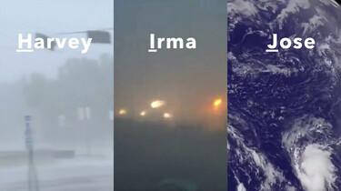 Hoe komt een orkaan aan zijn naam?