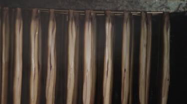 Hoe wordt paling gerookt?
