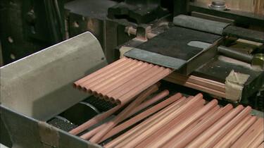 Hoe worden potloden gemaakt?
