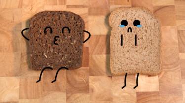 Is bruin brood gezonder dan wit brood?: Wit brood met een kleurtje