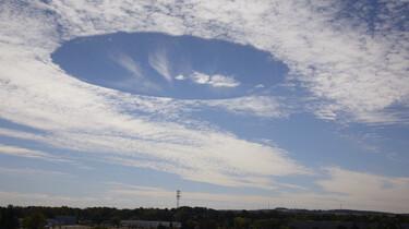 Wolken kijken: het pilotengat