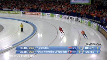 Hoe wordt de tijd gemeten bij schaatswedstrijden?