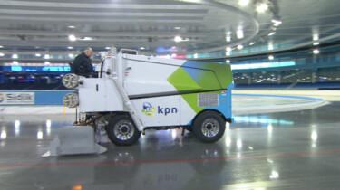 Hoe wordt het ijs op schaatsbanen gemaakt?