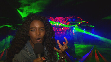 Het Klokhuis: Lasershow