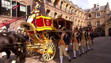 De vraag vandaag: Waarom rijdt de koning op Prinsjesdag in een koets?