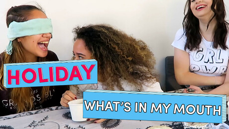 What's in my mouth Challenge | Holiday | Brugklas Seizoen 6