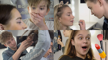 FOURCE & BRUGKLAS: MAKE-UP CHALLENGE