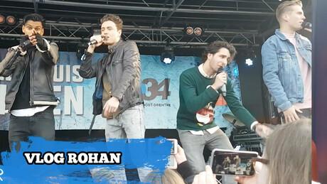 On stage met Zomaer | Vlog Rohan | #Forever