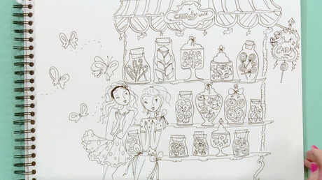 Snoepwinkel Tekenen