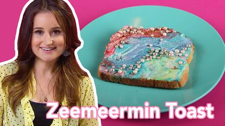 Zeemeermin Toast - Recept   Jill