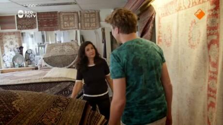 Kan Klaas zweven met een vliegend tapijt?