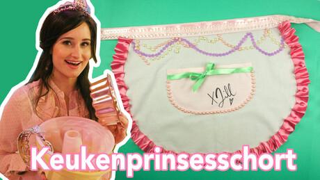 Keukenprinsesschort - DIY | Jill