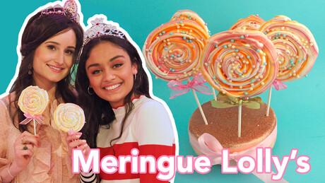 Meringue Lollies - Recept | Jill