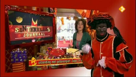 Intocht Sinterklaas 2012 met doventolk Cultura