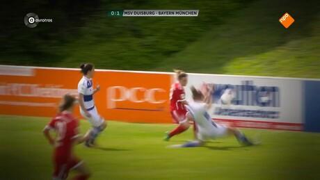 Voetbal, Jill Jamie Roord en Daniëlle van de Donk