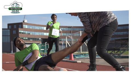 De Buitendienst  | Wie kan het snelst rennen?