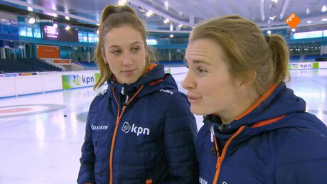 Shorttrack, Yara van Kerkhof en Suzanne Schulting