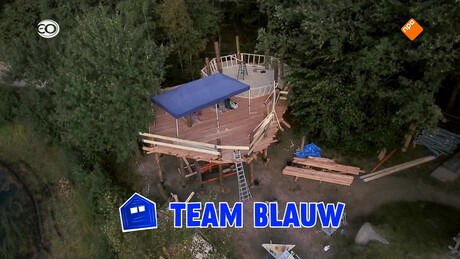 De Boomhut Battle | Bouwfase 2