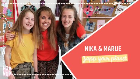 Hip voor Nop | Marije en Nika