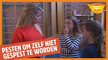 Dordrecht - 'Pesten, om zelf niet gepest te wor...