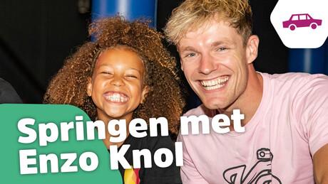 Naar het trampolinepark met Enzo Knol