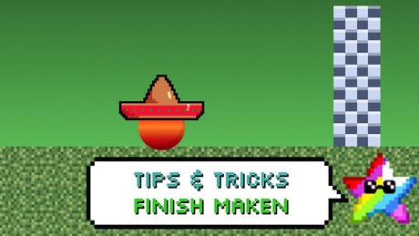 Hoe maak je een finish in je game?