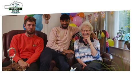 Hoera voor de oma van Jonata!