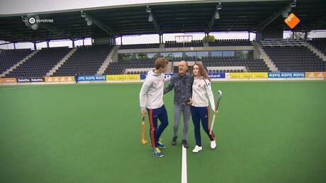 Zappsport | Hockey, Jorrit Croon en Eva de Goede