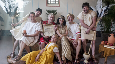 Welkom bij de Romeinen | Caesar en Cleopatra