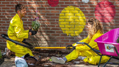Zapp Your Planet: Flower Power met Rachel & Elbert