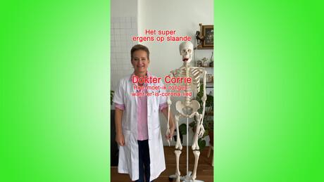 Dokter Corrie op TikTok: Coronatongen
