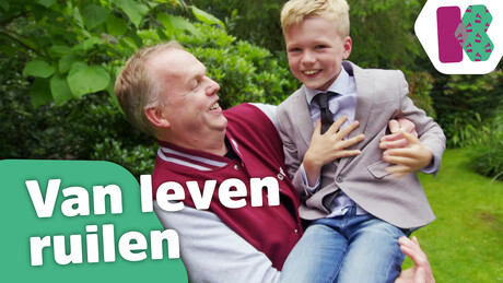 Olivier ruilt een dag van leven met zijn vader
