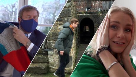 Een warme trui voor koning Willem-Alexander, ee...
