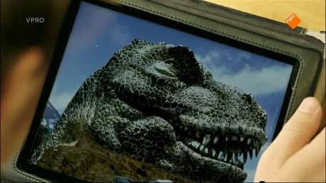 Pieter in de prehistorie | T-Rex