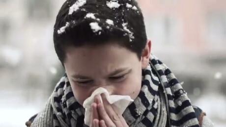 Je wordt ziek van een virus