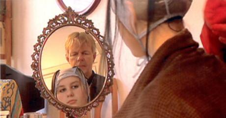Myrte en haar vader Olaf
