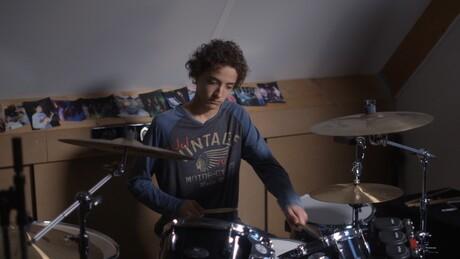 Drummer Don en Binkbeats