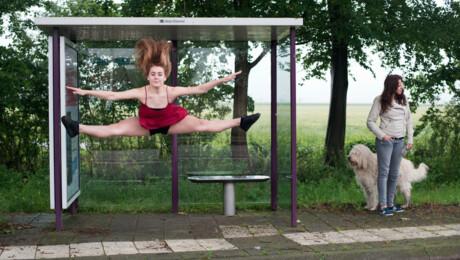 Danseres Lynn en Min Hee Bervoets