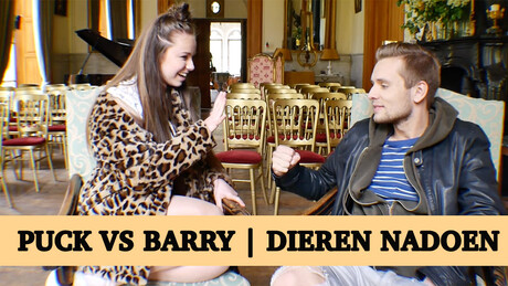 Challenge Puck vs Barry | Dieren nadoen