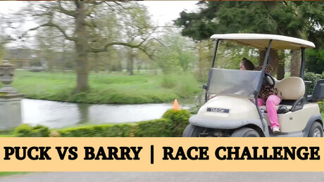 Puck vs Barry | Race Challenge