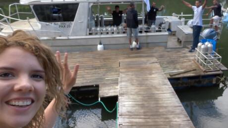 Rachel's vlog over de duikbasis!